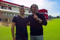 """Kun Agüero le metió presión a Gabriel Milito para que aceptara dirigir a Independiente: """"Le dije que no arrugara"""""""