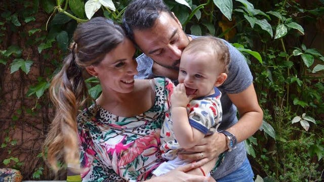 El 14 de febrero van a celebrar su amor en familia, Laura, Diego, Félix y Juana