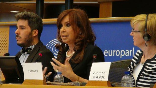 Cristina Kirchner, ante eurodiputados