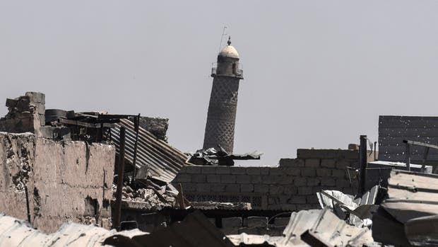 Estado Islámico destruye la histórica mezquita de Al-Nuri en Mosul