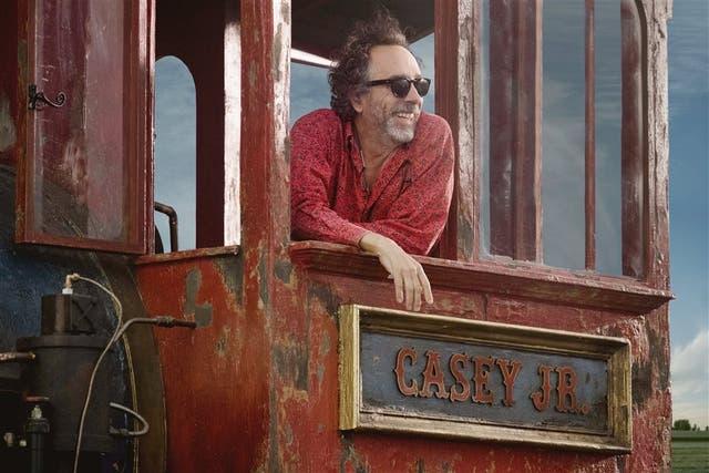 Tim Burton: rueda Dumbo en Londres
