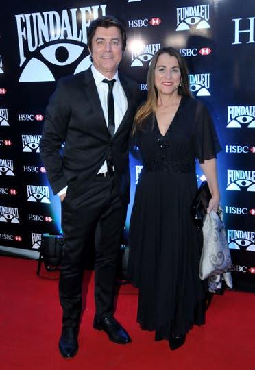 Gabriel Corrado junto a su mujer Constanza Feraud. Foto: LA NACION / Gerardo Viercovich