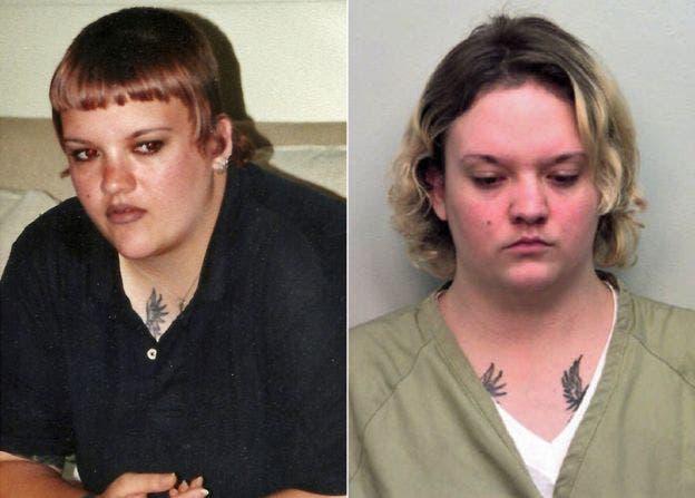 Angela fue sentenciada por robo en febrero de 1999
