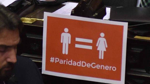 Se debatirá hoy en comisión el proyecto de ley de paridad de género