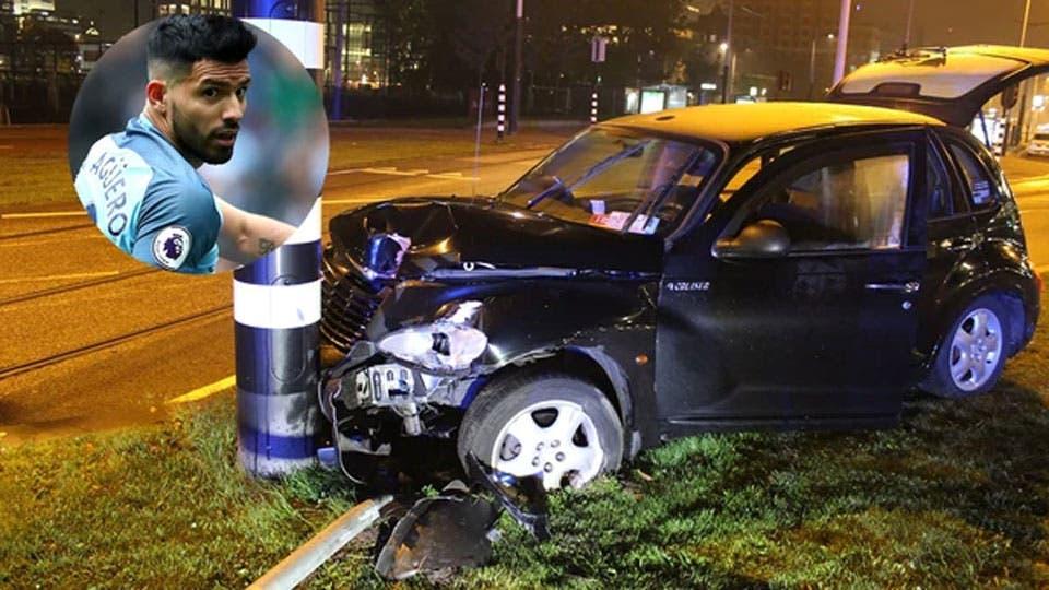 Agüero contó su accidente en Amsterdam