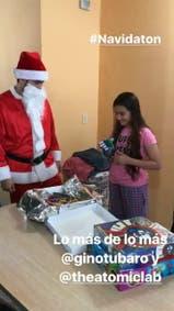 Alma recibió una mano mecánica como regalo de navidad del inventor Gino Tubaro