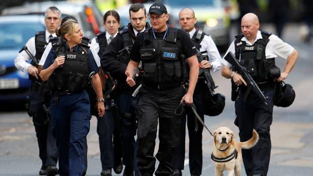 Elogios a la actuación de la policía durante los ataques en Londres