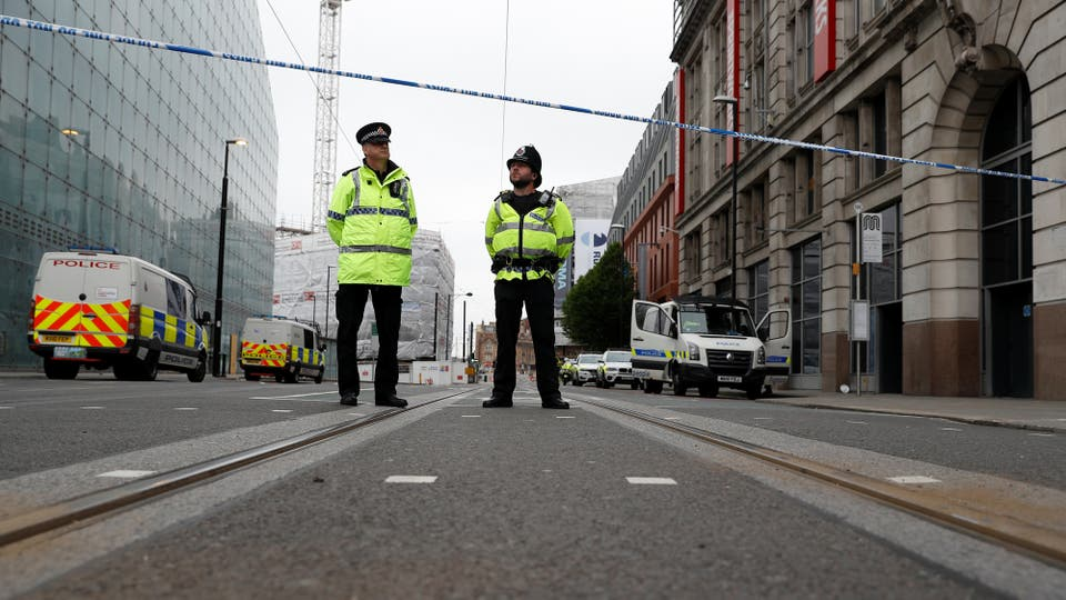 Fuerte operativo policial en las calles de Londres y Manchester. Foto: Reuters