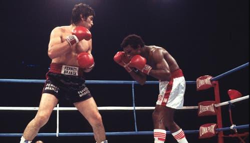 Monzón y la recordada pelea ante Rocky Valdez