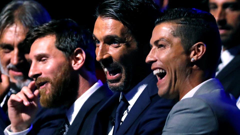 Lionel Messi, Gianluigi Buffon, Cristiano Ronaldo