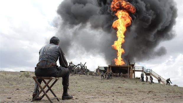Daniel Day Lewis en Petróleo sangriento, de Paul Thomas Anderson