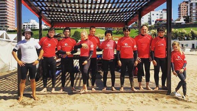 De la mano de Biología, en Mar del Plata te espera la más profesional escuela de surf