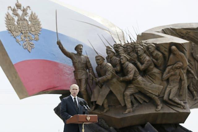 Vladimir Putin recordó a las víctimas de la Primera Guerra Mundial y habló de la realidad política que atraviesa Rusia