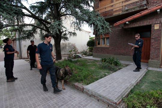 Tomás Dameno Santillán fue  buscado por unos 400 policías en el marco del megaoperativo montado en la provincia. Foto: LA NACION / Jorge Bosch