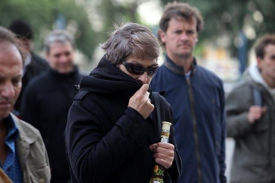 Finalmente el frío llegó a Buenos Aires. Foto: LA NACION / Ezequiel Muñoz