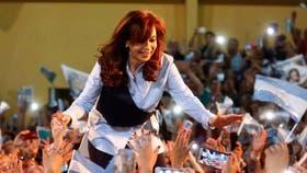 Cristina Kirchner, candidata a senadora nacional por Unidad Ciudadana