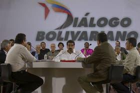 Nicolás Maduro, ayer, en su programa de televisión donde arremetió contra el dólar paralelo