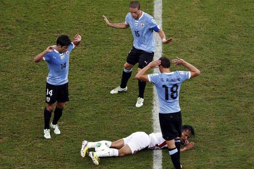 Para mí fue Ramírez.... Foto: Reuters