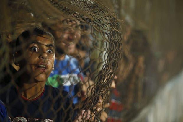 Y sí, la miss de hoy no es para menos....  Foto:Reuters