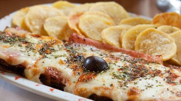 La milanesa de Ocho Esquinas. Foto: BA Capital Gastronómica