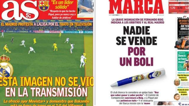 Los diarios de Madrid justificaron todo
