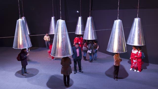 La instalación de la Usina propone un recorrido por los sonidos de Cien años de soledad