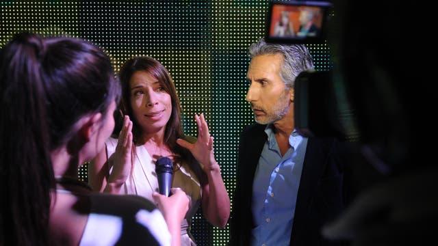 Dolores Cahen D''''''''''''''''''''''''''''''''''''''''''''''''''''''''''''''''Anvers y Juan Miceli, las caras de la noticia en LN+. Foto: LA NACION