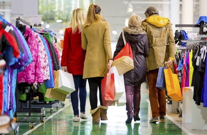 Ir de compras no siempre está bueno