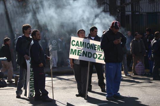 """Moyano le reclamó a la Presidenta que """"abandone esa soberbia abrumadora"""" y le pidió diálogo. Foto: LA NACION / Silvana Colombo"""