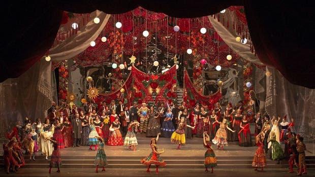 La Traviata, con función suspendida