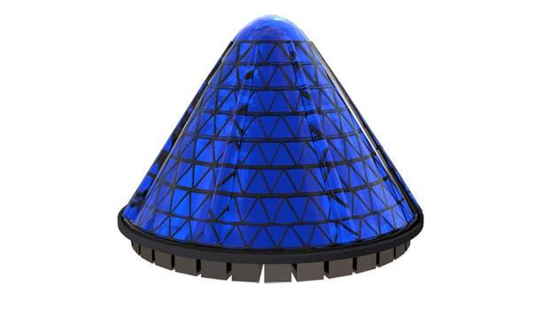 El panel V3 Spin Cell, un modelo del equipo de diseño Nectar Design