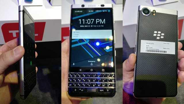Un prototipo del BlackBerry Mercury
