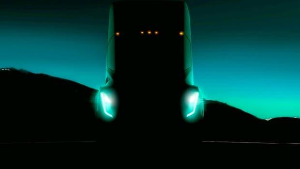 La primera imagen del camión autónomo de Tesla