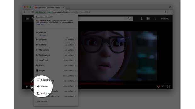 Chrome permitirá silenciar un sitio en forma permanente