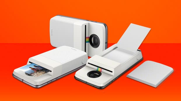 Moto Mod Polaroid Insta-Share Printer es oficial
