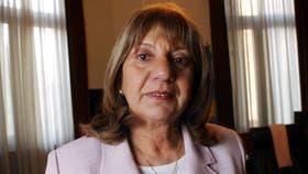 María del Carmen Falbo está próxima a cumplir 75 años y era el foco de fuertes críticas en Cambiemos