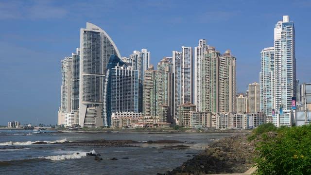 El perfil de Ciudad de Panamá