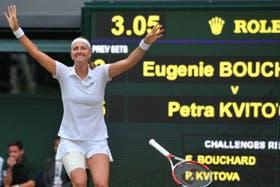 Petra Kvitova es la última zurda en ganar Wimbledon, en 2014