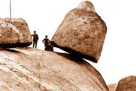 La Movediza, que cayó el 29 de febrero de 1912, sigue siendo el símbolo de Tandil