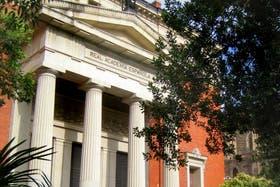 La sede de la Real Academia Española