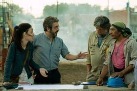 Martina Gusmán y Ricardo Darín, protagonistas del film de Trapero, ambientado en la villa 15