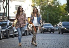 Socias y amigas.Guillermina Noe (izq.) y Bárbara Levinas (der.), comparten el negocio