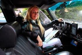 Shalimar Reynal compite sola con un Porche 911 modelo 71