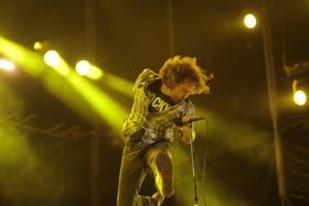 Vedder; estampa de héroe