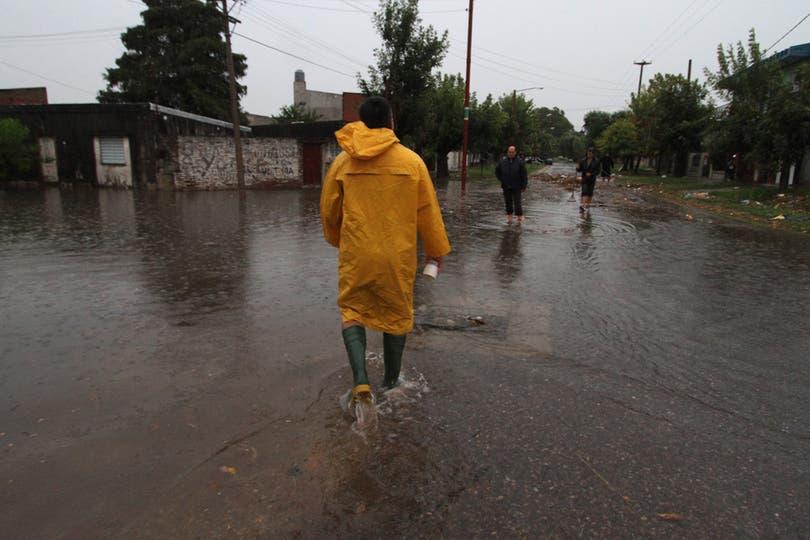 Barrio Chalet es uno de los más afectados. Foto: DyN