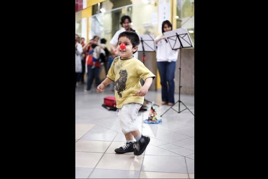 "Música para el alma, ""la orquesta"" que llenó de vida el hospital de niños Elizalde. Foto: LA NACION / Guadalupe Aizaga"