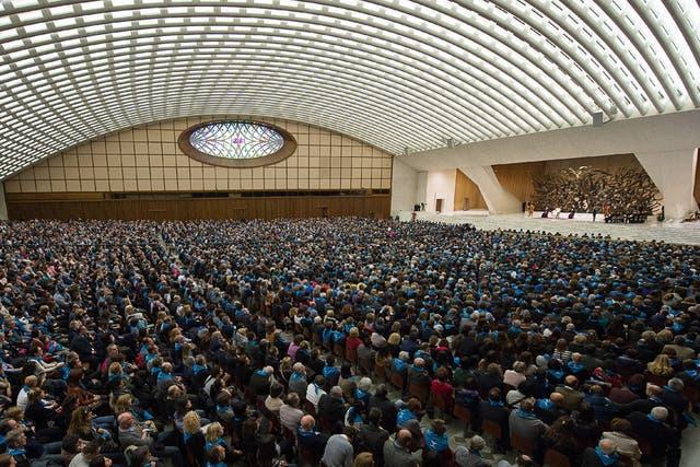 Papa pontífice Francisco Vaticano Santa Sede coooperativas italianas cientos miles discurso