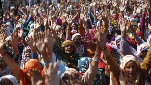 Los jat quieren poder acceder a puestos reservados a las castas más bajas