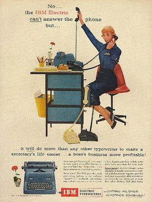Conocé la historia de la máquina de escribir
