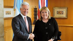 Susana Malcorra firmó hace dos semanas un acuerdo sobre Malvinas con el vicecanciller británico Alan Duncan